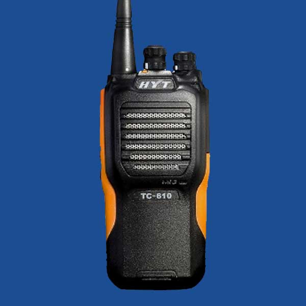 Hytera TC-610 Two Way Radio | Two Way Radios for Security, Safety and Business - Fast Radios, Inc.