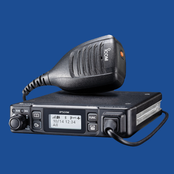 iCOM IP501M Two Way Radio | Two Way Radios for Security, Safety and Business - Fast Radios, Inc.