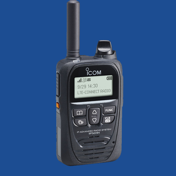 iCOM LTE 501H Two Way Radio | Two Way Radios for Security, Safety and Business - Fast Radios, Inc.