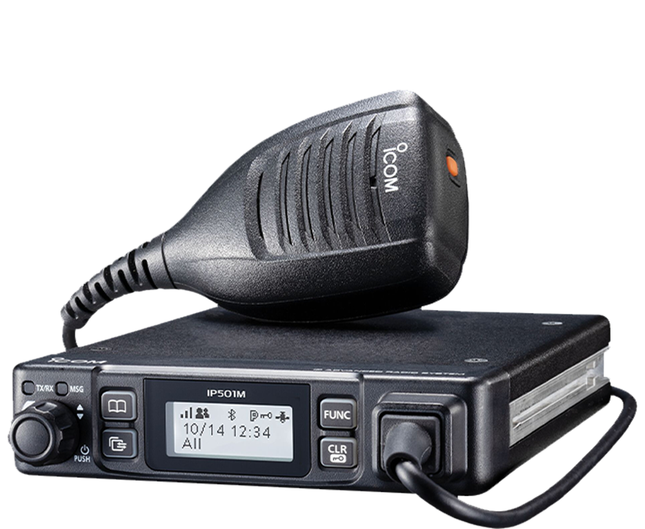 Two Way Radio with Handheld Microphone | Two Way Radios for Security, Safety and Business - Fast Radios, Inc.